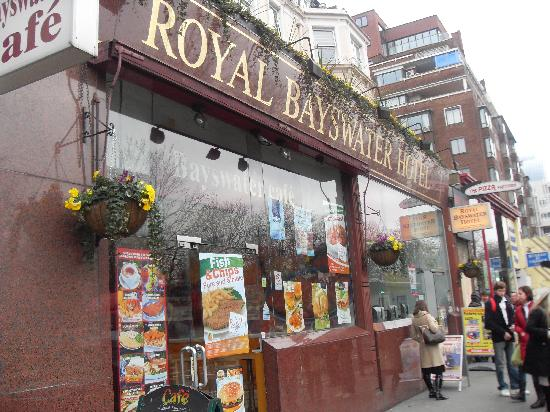 Royal Bayswater Hostel: Fachada