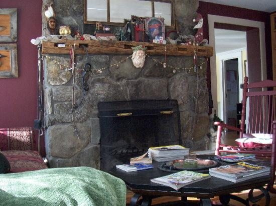 Wilder Farm Inn B&B: Fire Place