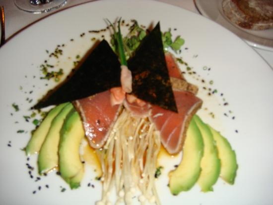 Restaurant Gary Danko: Seared Ahi Tuna with Avocado