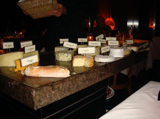 Restaurant Gary Danko : Cheese course
