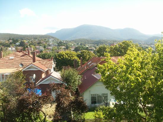 Hobart Gables: Mt Wellington From Rear Balcony