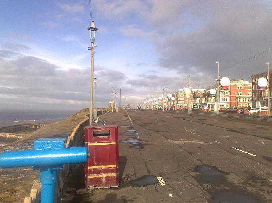 Coast Apartments: The view along the Prom, 30 seconds' walk from Coast