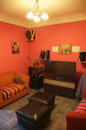 Hostal Montejo: TV room - Seldom used