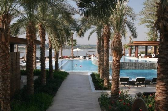 Hilton Luxor Resort & Spa: View Towards The Nile