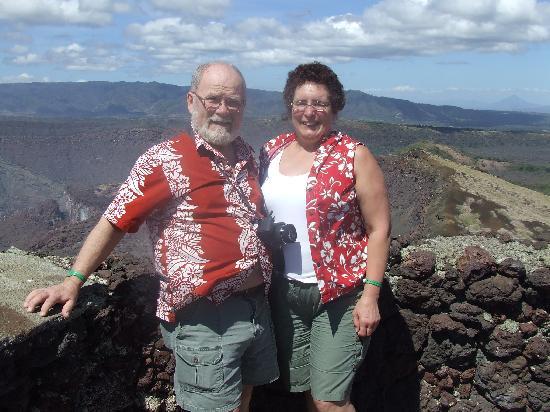Allegro Papagayo: at Nicaraguan volcano
