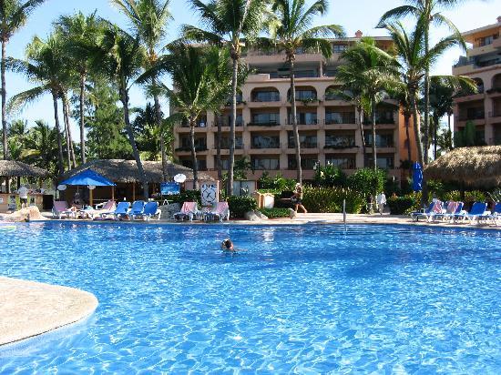 Torres Mazatlan Resort Part Of The Pool At