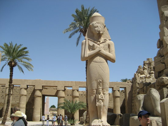 Egypte: Luxor temple