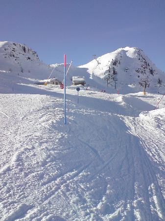 La Thuile, Włochy: Blue run