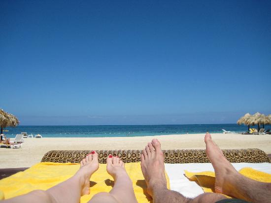 Iberostar Grand Hotel Rose Hall : From the comfy beach bed