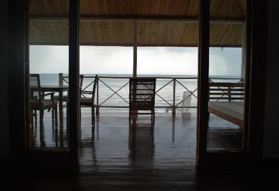 Bocas Villas: View out the Villa
