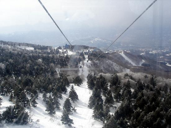 Yamagata Prefecture, Japon: Mount Zao Rope car