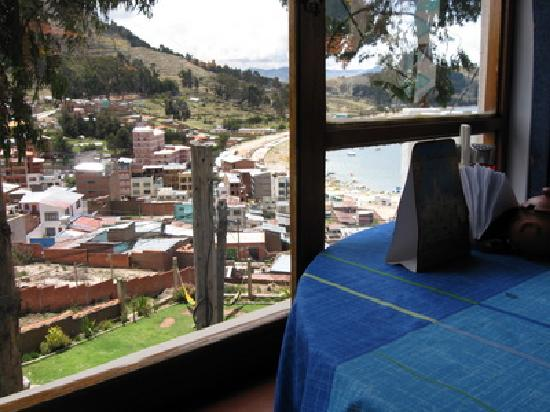 Hotel La Cupula: A view from the restaurant