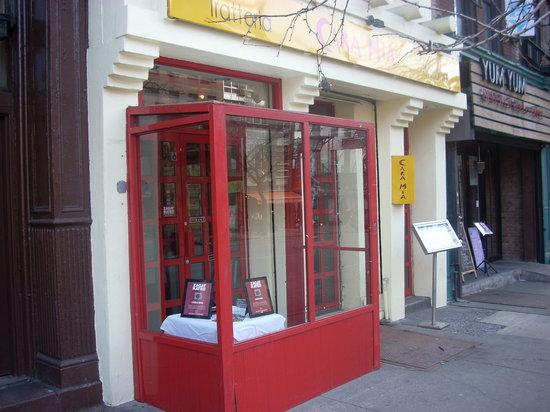 Photo of Italian Restaurant Cara Mia at 654 9th Ave, New York City, NY 10036, United States