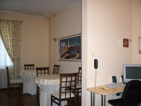 Casa Ferrari B&B: Eingang bzw. Frühstücksraum