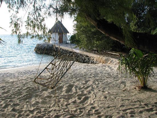 Giravaru Resort: Dalla camera