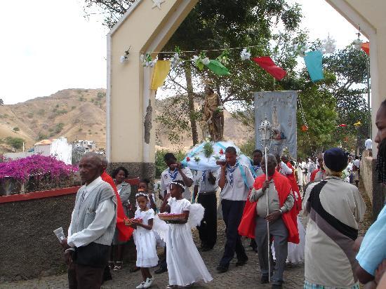 Santiago, Cape Verde: Festival, Sao Domingos