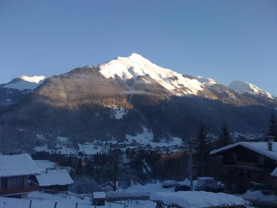 View from chalet Spycat lounge