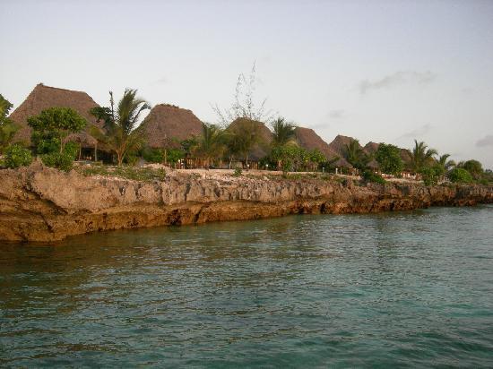 Dolphin Beach Resort : Vue depuis la mer