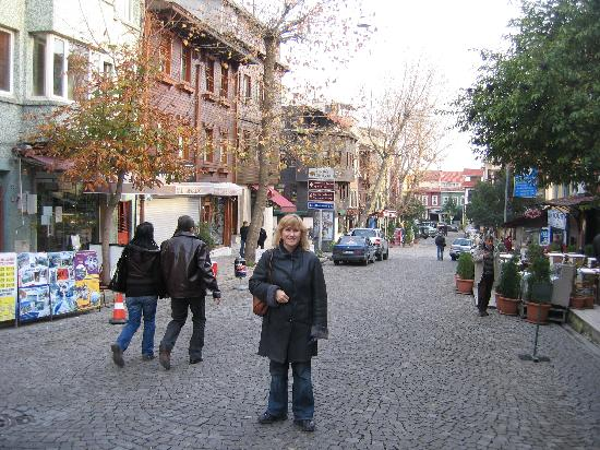 Historia Hotel : The street down to the Hotel