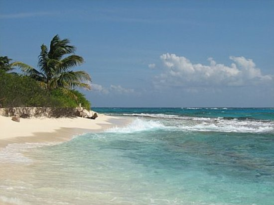 Pulau San Andres, Kolombia: Johnny Cay Beach View