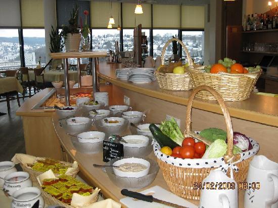 Arcadia Hotel Suhl: Frühstück