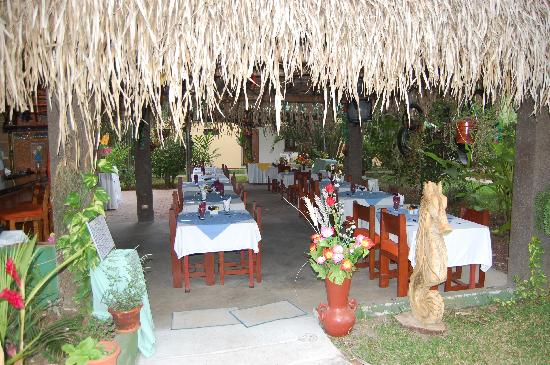 "Villas Estrellamar : The restaurant ""Mojitos"""
