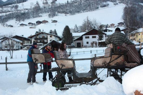 Chalet Anna: Horse and trap around Uttendorf