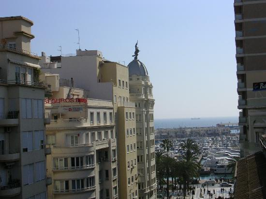 Hotel Rambla : View to the marina from our balcony