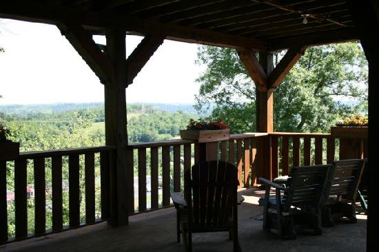 The Inn at Dresden: One view from the deck