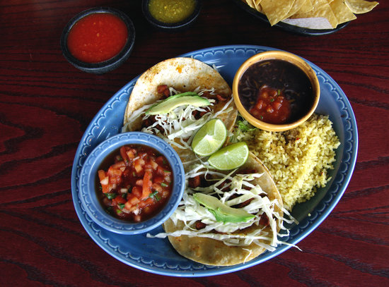 Bellas Fresh Mexican Grill: Tacos De Adobadas (Spicy)