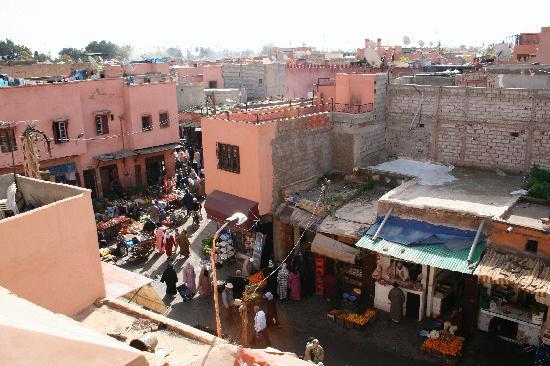 La Sultana Marrakech : vista dal tetto