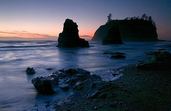 Evening At Ruby Beach