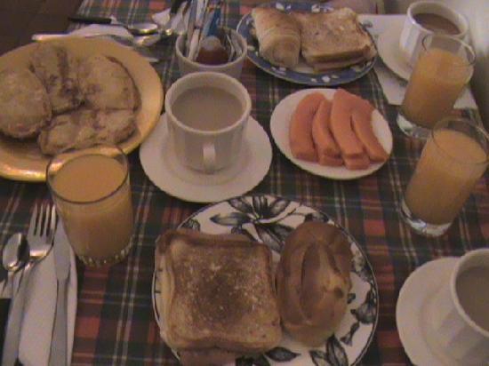 Casona del Patio: Nuestro Rico Desayuno
