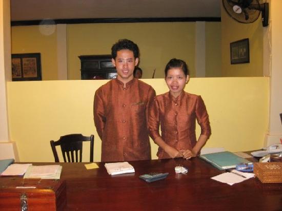Pavillon d'Orient Boutique-Hotel: Staff always smiling!