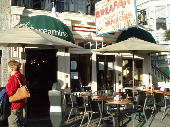 Pergamino: Look for the green awning and tuck in