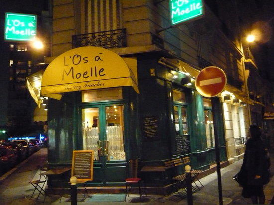 L'Os a Moelle : お店の入口