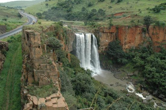 ‪‪Waterval Boven‬, جنوب أفريقيا: Waterfall in Waterval Boven‬