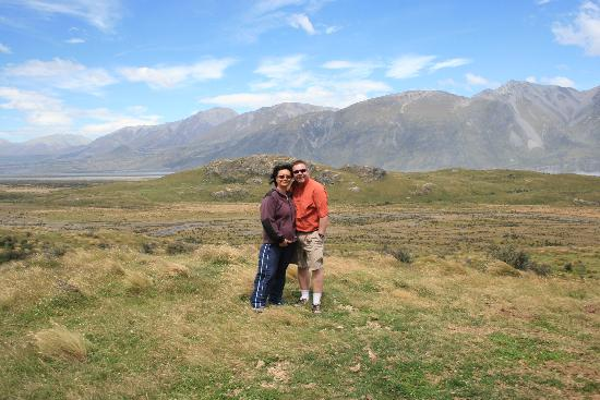 4x4 New Zealand : In front of Edoras