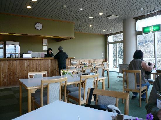 Tokutomi Roka Memorial Museum of Literature : Cafe Hototogisu / 喫茶室「不如帰」店内