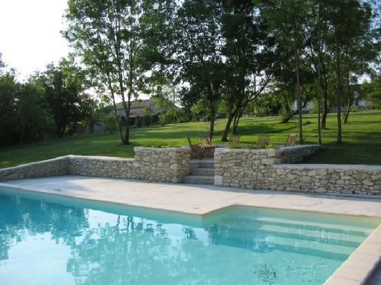 Le Mayne de Boulede: Piscine partagee par deux cottages a Boulède