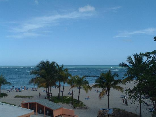 Grand Paradise Playa Dorada: vue de ma chambre