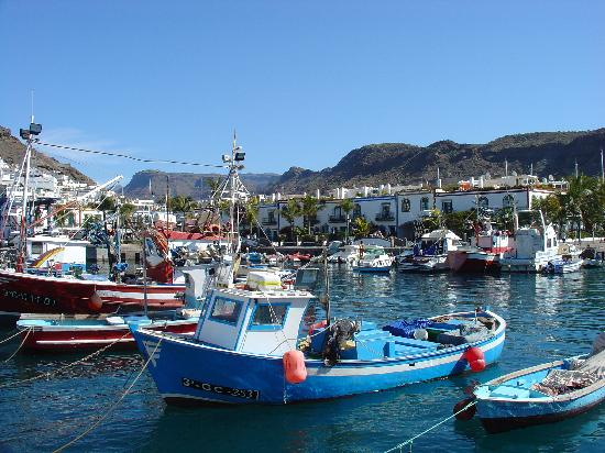 Puerto de mogan feb 09 picture of puerto de mogan mogan tripadvisor - Pension eva puerto de mogan ...