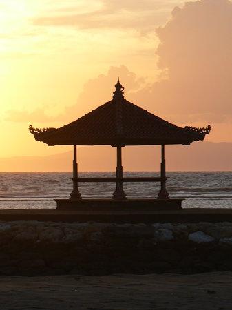 Nusa Dua, Indonesien: Another fine day dawns