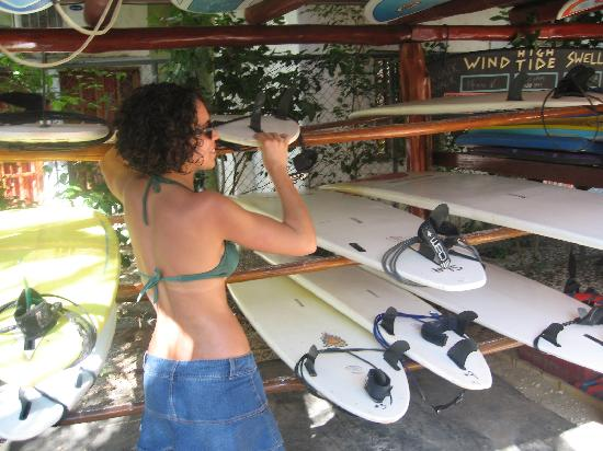Playa Grande Surf Camp: planches