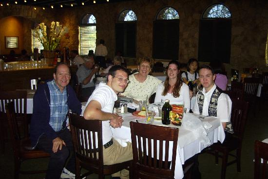 Romano's Macaroni Grill: Current and previous family members at The Macoroni Grill