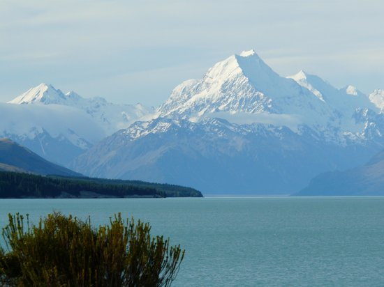 Christchurch, Yeni Zelanda: Lake Pukaki Mt Cook