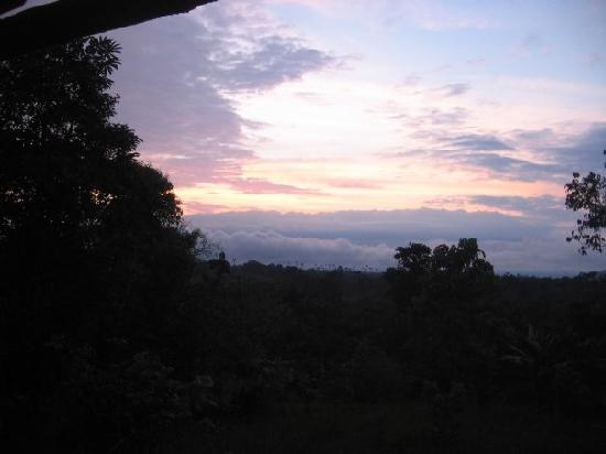 Finca La Nueva Esperanza: Sunset