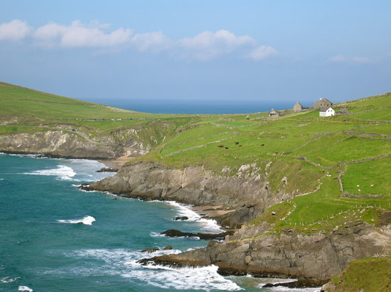 "Irish Coast- site of ""Ryan's Daughter"""