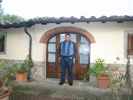 Agriturismo La Pievuccia: Outside our room