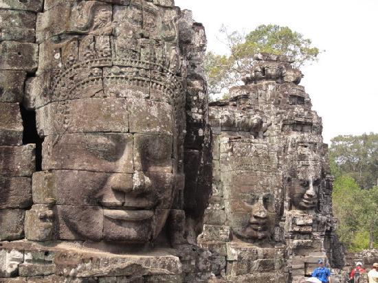 Siem Reap, Cambodia: the Bayon